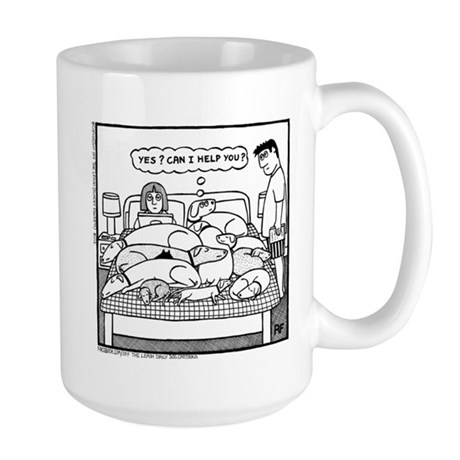 Yes? Can I Help You? Large Mug