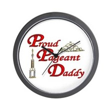 Pageant Daddy Wall Clock