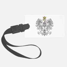 Polish Eagle With Gold Crown Luggage Tag
