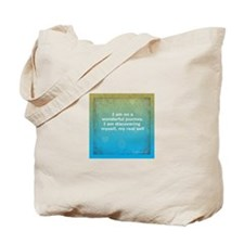 Wonderful Journey to Self 4x4 Tote Bag