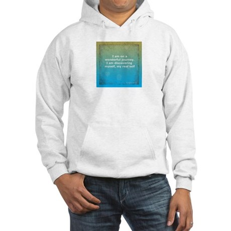 Wonderful Journey to Self 4x4 Hooded Sweatshirt