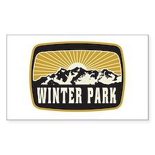 Winter Park Sunshine Patch Decal