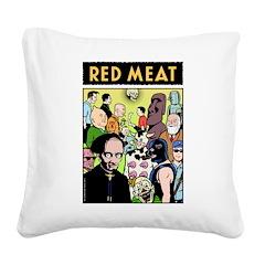 Mondo MEAT Square Canvas Pillow