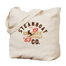 Go Huck Yourself Steamboat Tote Bag