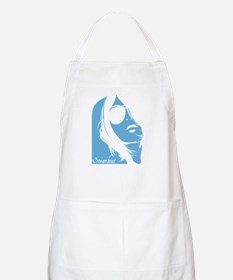 Steamboat Lady Silhouette Apron