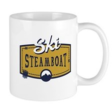 Ski Steamboat Patch Mug