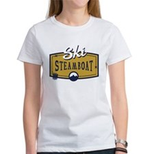 Ski Steamboat Patch Tee