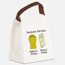 Castle - Righter Writer of Wrongs Canvas Lunch Bag