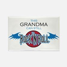 Grandma can still Rock n Roll Rectangle Magnet