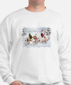 Great Pyrenees Womens Sweatshirt - Pyrs & Sant