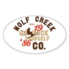 Go Huck Yourself Wolf Creek Decal