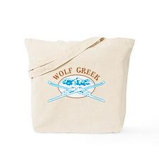 Wolf Creek Crossed-Skis Badge Tote Bag