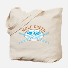 Wolf Creek Crossed-Skis Badge Tote Bag