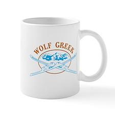Wolf Creek Crossed-Skis Badge Mug