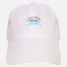 Wolf Creek Crossed-Skis Badge Baseball Baseball Cap