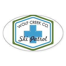 Wolf Creek Ski Patrol Patch Decal