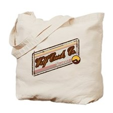 Wolf Creek Mountain Patch Tote Bag