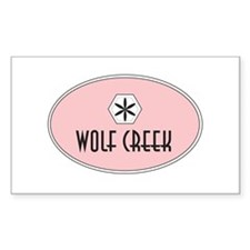 Wolf Creek Retro Patch Decal