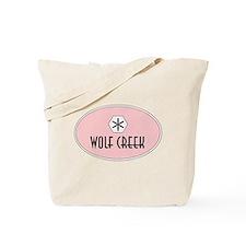 Wolf Creek Retro Patch Tote Bag