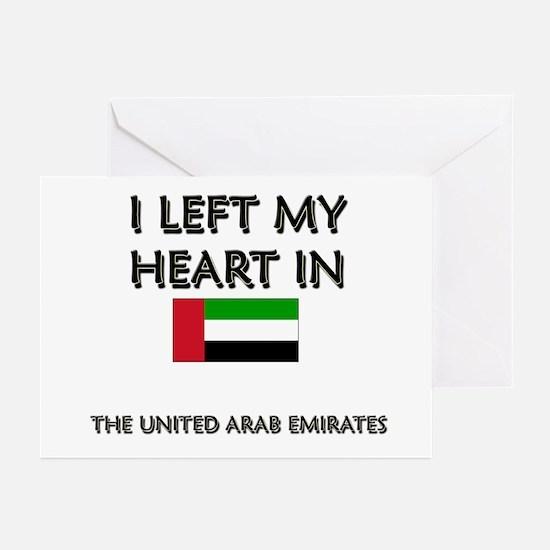 I Left My Heart In The United Arab Emirates Greeti