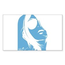 Wolf Creek Lady Silhouette Decal