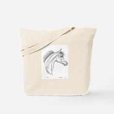 Yearling Horse Tote Bag
