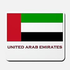 The United Arab Emirates Flag Gear Mousepad