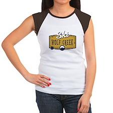 Ski Wolf Creek Patch Women's Cap Sleeve T-Shirt