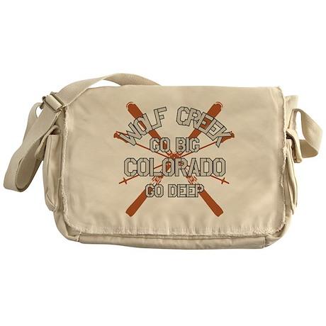 Go Big Wolf Creek Messenger Bag