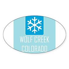 Wolf Creek Snowflake Decal