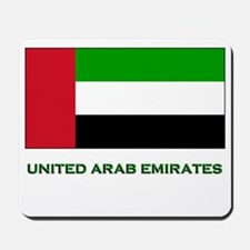 The United Arab Emirates Flag Merchandise Mousepad
