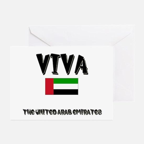 Viva The United Arab Emirates Greeting Cards (Pack