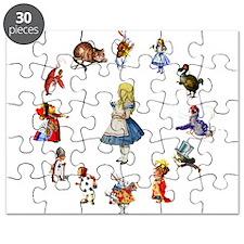 All Around Alice In Wonderland Puzzle
