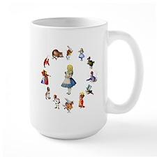 All Around Alice In Wonderland Mug