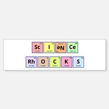 Science Rocks Bumper Bumper Sticker
