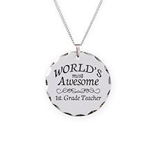 1st. Grade Teacher Necklace