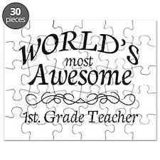 1st. Grade Teacher Puzzle