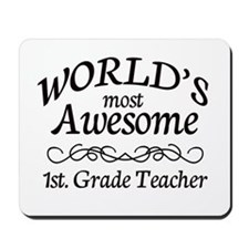 1st. Grade Teacher Mousepad