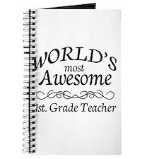 1st. Grade Teacher Journal