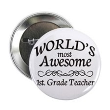 "1st. Grade Teacher 2.25"" Button"