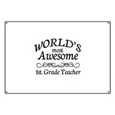 1st. Grade Teacher Banner
