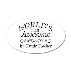 1st. Grade Teacher Wall Decal