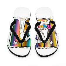 Aquarius Flip Flops