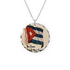 Funny quote about being cuban Necklace