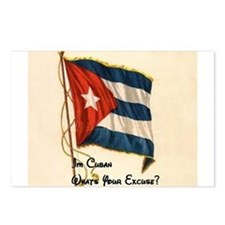 Funny quote about being cuban Postcards (Package o