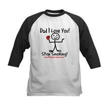 Dad I Love You Stop Smoking Tee