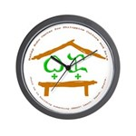 Join Us BK Logo Wall Clock