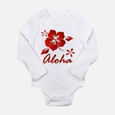 Aloha Long Sleeve Infant Bodysuit