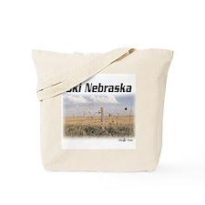 Ski Nebraska Tote Bag