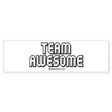 Team Awesome - Bumper Bumper Sticker